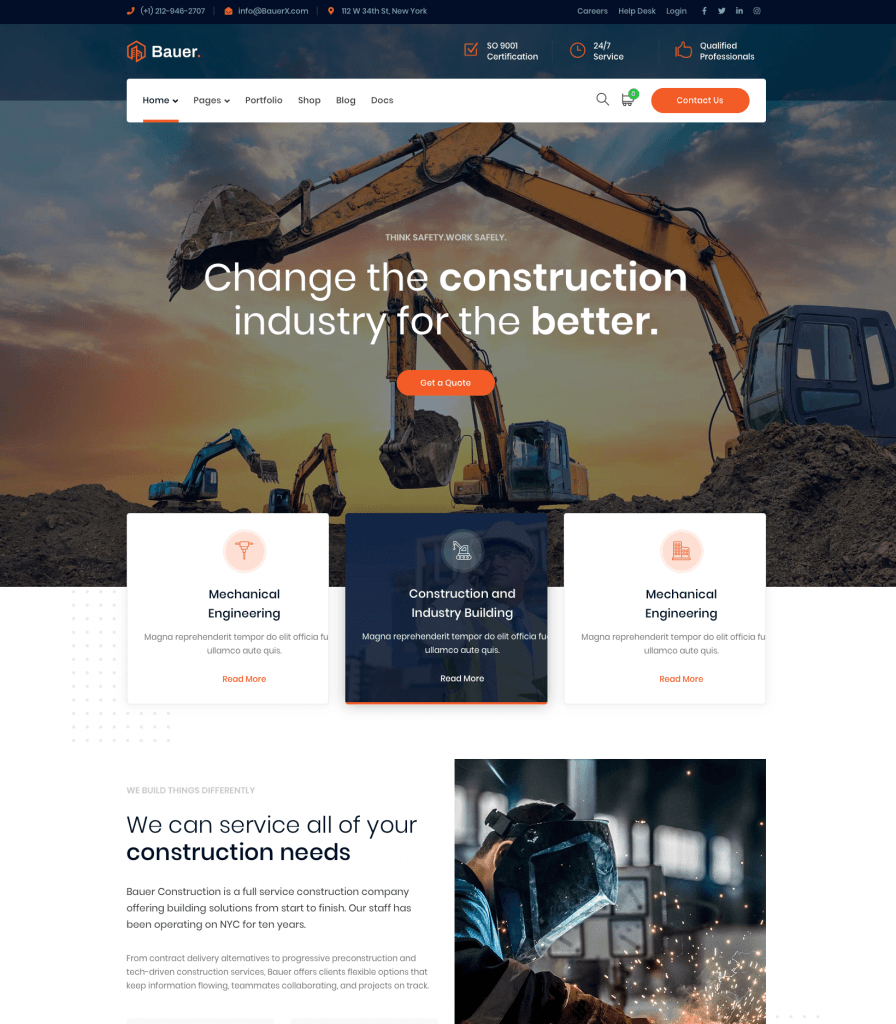 Home Construction – Bauer